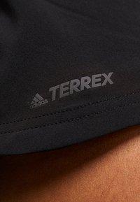 adidas Performance - TERREX TRAIL - Friluftsshorts - black - 4