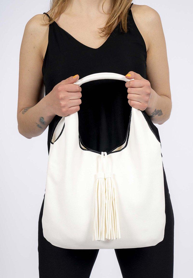 Emily & Noah - Tote bag - white