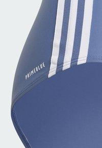 adidas Performance - MAILLOT DE BAIN COLORBLOCK 3-STRIPES - Swimsuit - blue - 6