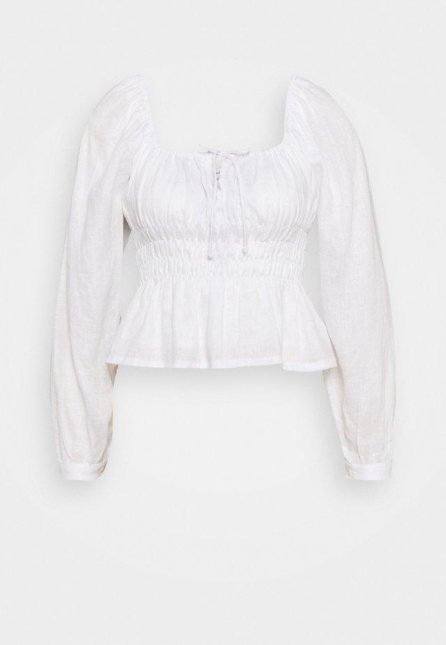 BELLANO  - Blus - plain white
