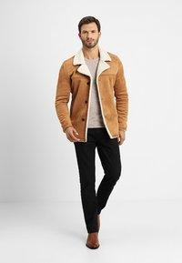 INDICODE JEANS - CROCKFORD - Light jacket - camel - 1