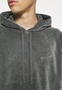 Carhartt WIP - HOODED UNITED SCRIPT  - Hoodie - dark grey heather - 5