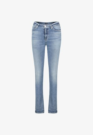 HARLOW - Bootcut jeans - blue