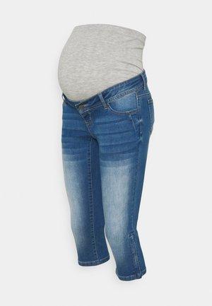MLPIXIE CAPRI - Szorty jeansowe - light blue denim