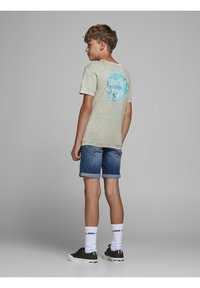 Jack & Jones Junior - Print T-shirt - drizzle - 2
