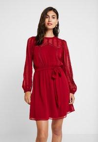 NAF NAF - LATROUSSO - Day dress - rouge dorient - 0