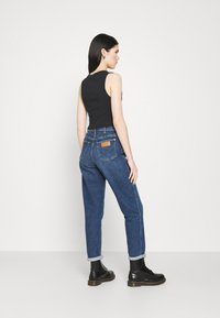 Abrand Jeans - HEATHER SINGLET - Top - black sea - 2