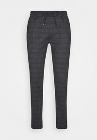 INDICODE JEANS - EBERLEIN WITH ROLL UP CHECK - Trousers - mecan grey - 3
