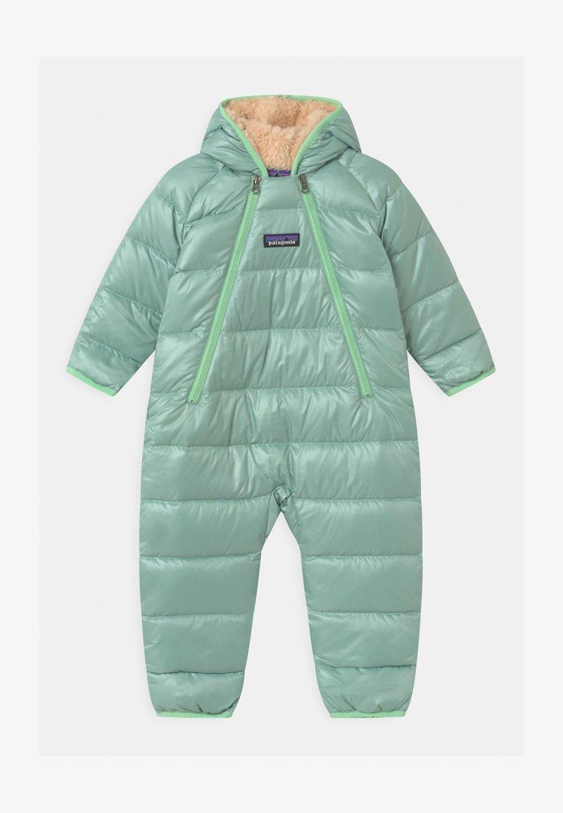Patagonia - INFANT BUNTING UNISEX - Lyžařská kombinéza - gypsum green