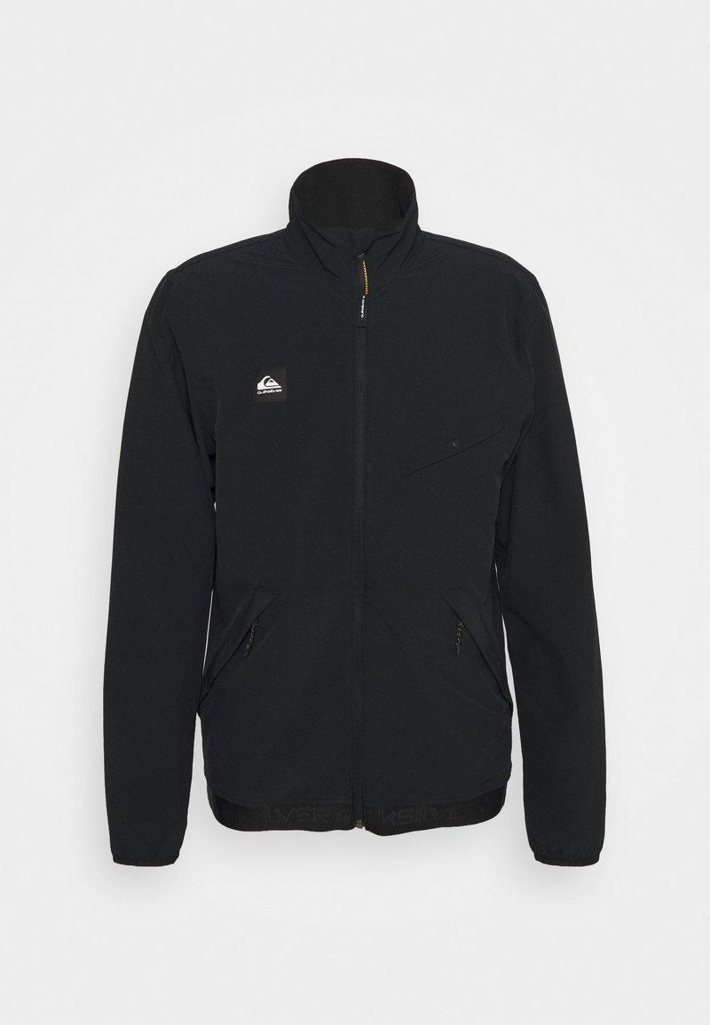 Quiksilver - CROSS OVER - Soft shell jacket - black