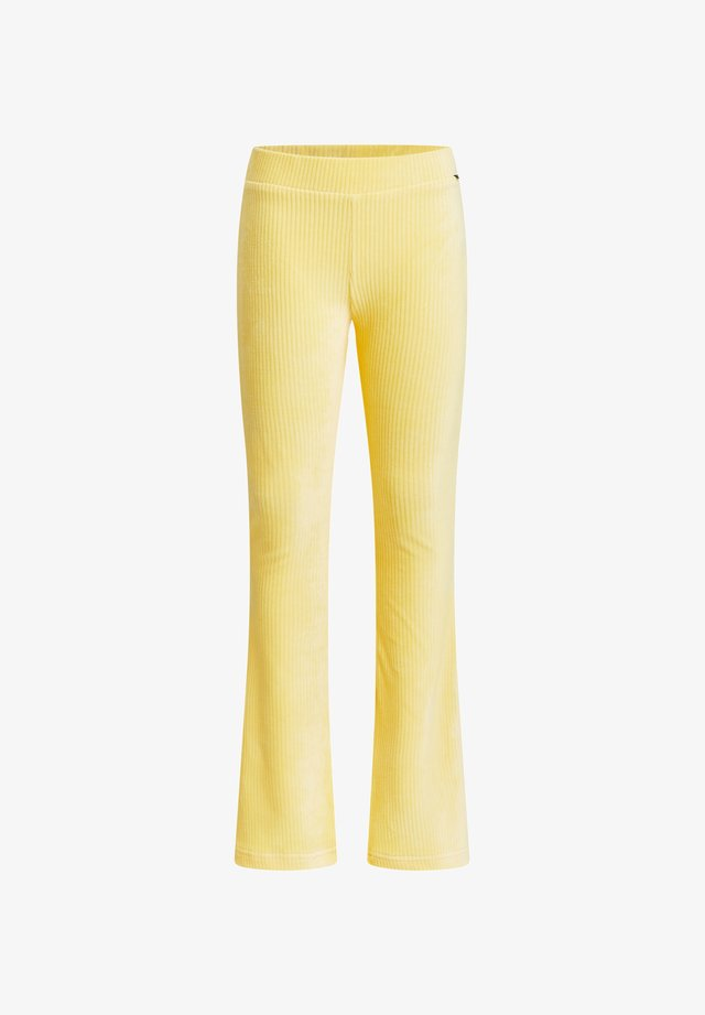 FLARED LEGGING - Leggings - yellow