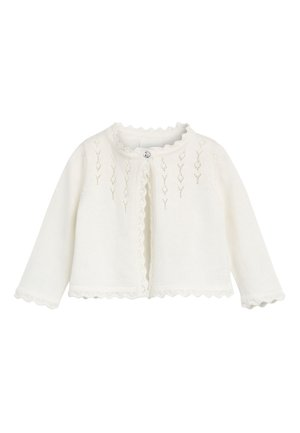 PINK OCCASION CARDIGAN (0MTHS-2YRS) - Strikjakke /Cardigans - off-white