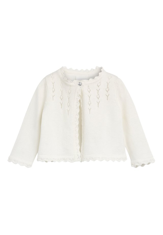 PINK OCCASION CARDIGAN (0MTHS-2YRS) - Vest - off-white