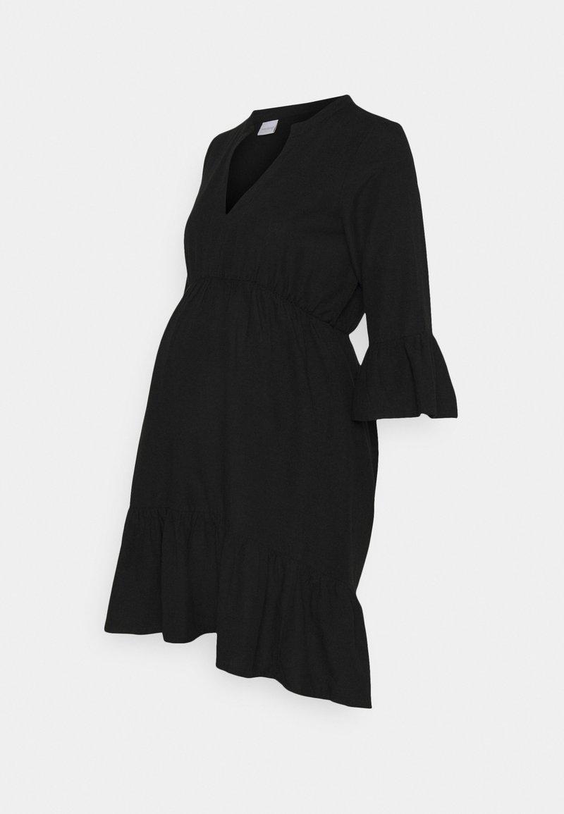 MAMALICIOUS - MLCHIA SHORT DRESS - Vapaa-ajan mekko - black