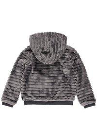 Boboli - MIT FELL UND MÜTZE FÜR MÄDCHEN - Winter jacket - anthracite - 3