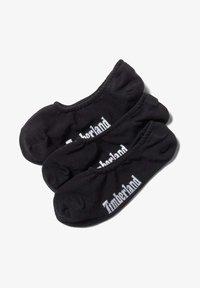 Timberland - 3 PACK - Trainer socks - black - 0