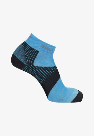 PIZ BERNINA - Sports socks - ebony/vivid blue