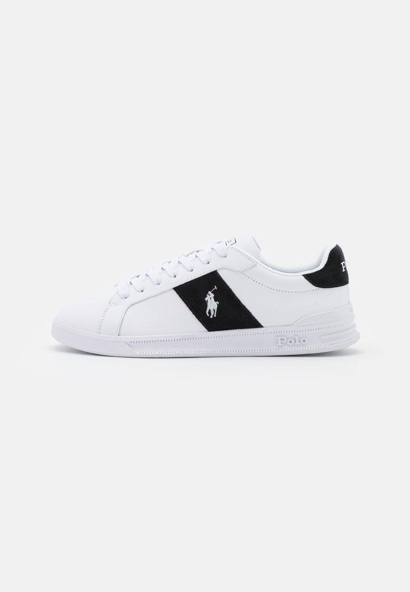 Polo Ralph Lauren - HERITAGE COURT UNISEX - Sneakersy niskie - white/black