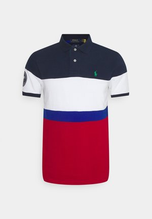 BASIC  - Poloshirt - french/navy/multi