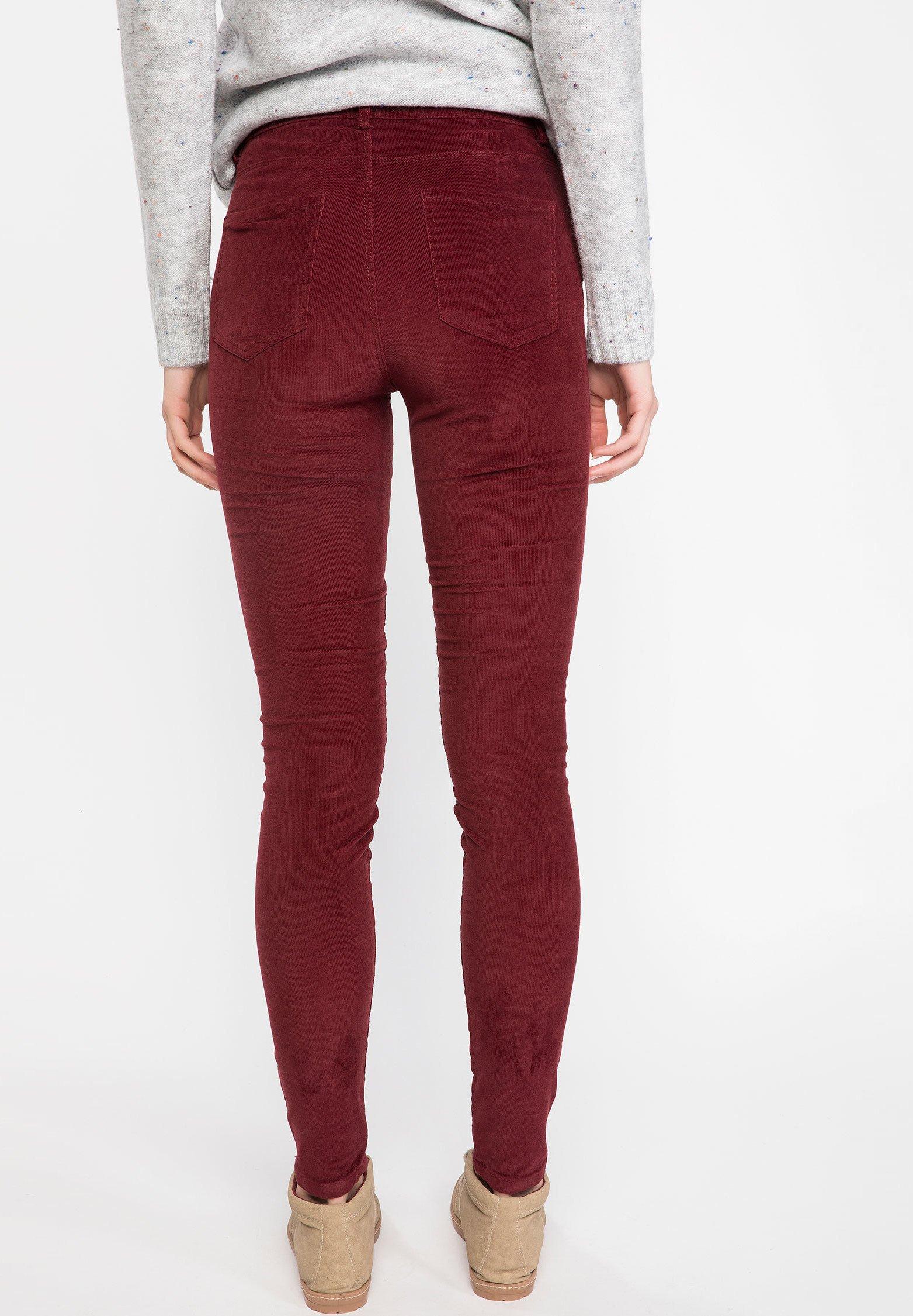 DeFacto Legging - bordeaux - Pantalons & Leggings Femme 5Kkb0