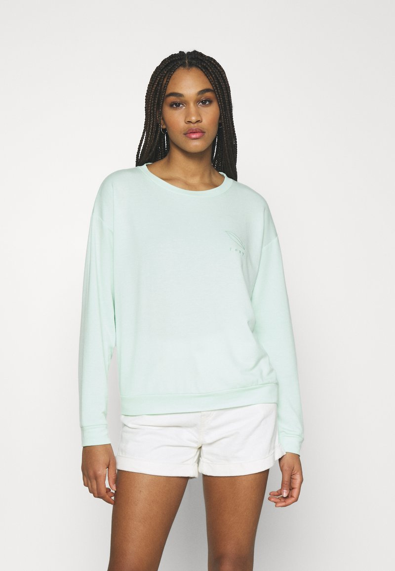Roxy - SURFING BY MOONLIGHT - Sweatshirt - brook green