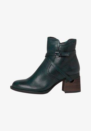 STIEFELETTE - Cowboy/biker ankle boot - bottle