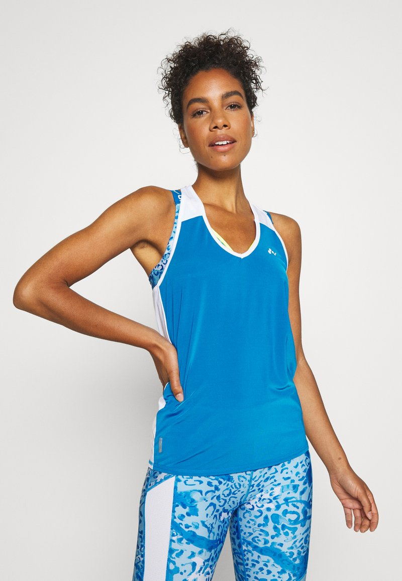 ONLY Play - ONPAMBRE TRAINING - Camiseta de deporte - imperial blue/white/black