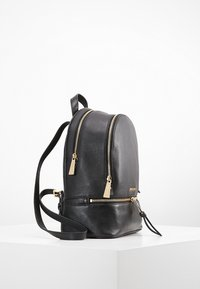 MICHAEL Michael Kors - RHEA ZIP BACKPACK SMALL - Plecak - black - 3