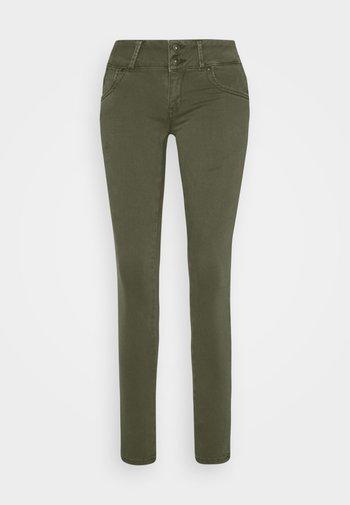 Slim fit jeans - olive night wash