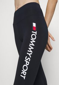 Tommy Hilfiger - LEGGING HIGHWAIST LOGO - Tights - blue - 6