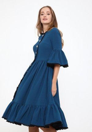 CHIARA - Shirt dress - aqua