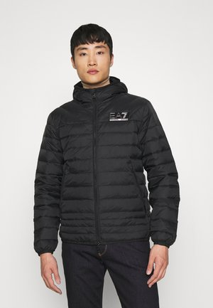 Down jacket - black/silver-coloured