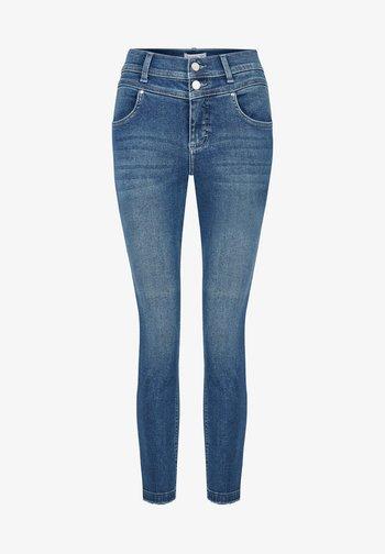 MIT DOPPELKNOPFVERSCHLUSS - Jeans Skinny Fit - blau
