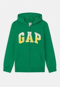 GAP - BOY LOGO  - Felpa aperta - parrot green - 0