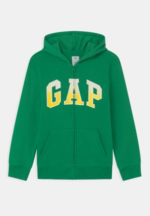 BOY LOGO  - Zip-up hoodie - parrot green