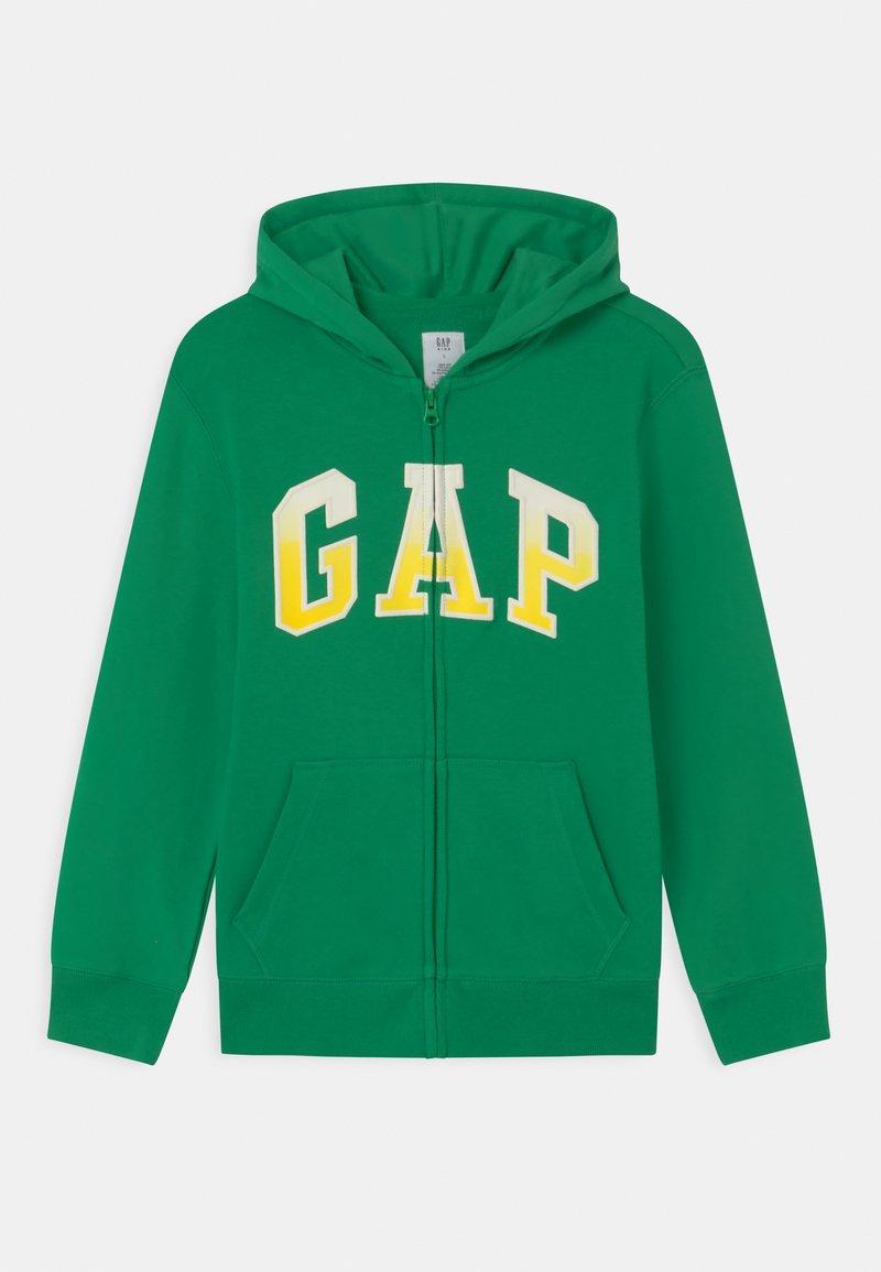 GAP - BOY LOGO  - Felpa aperta - parrot green