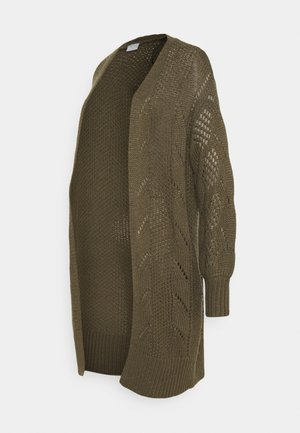 PCMPENELOPE LONG CARDIGAN  - Kardigan - sea turtle
