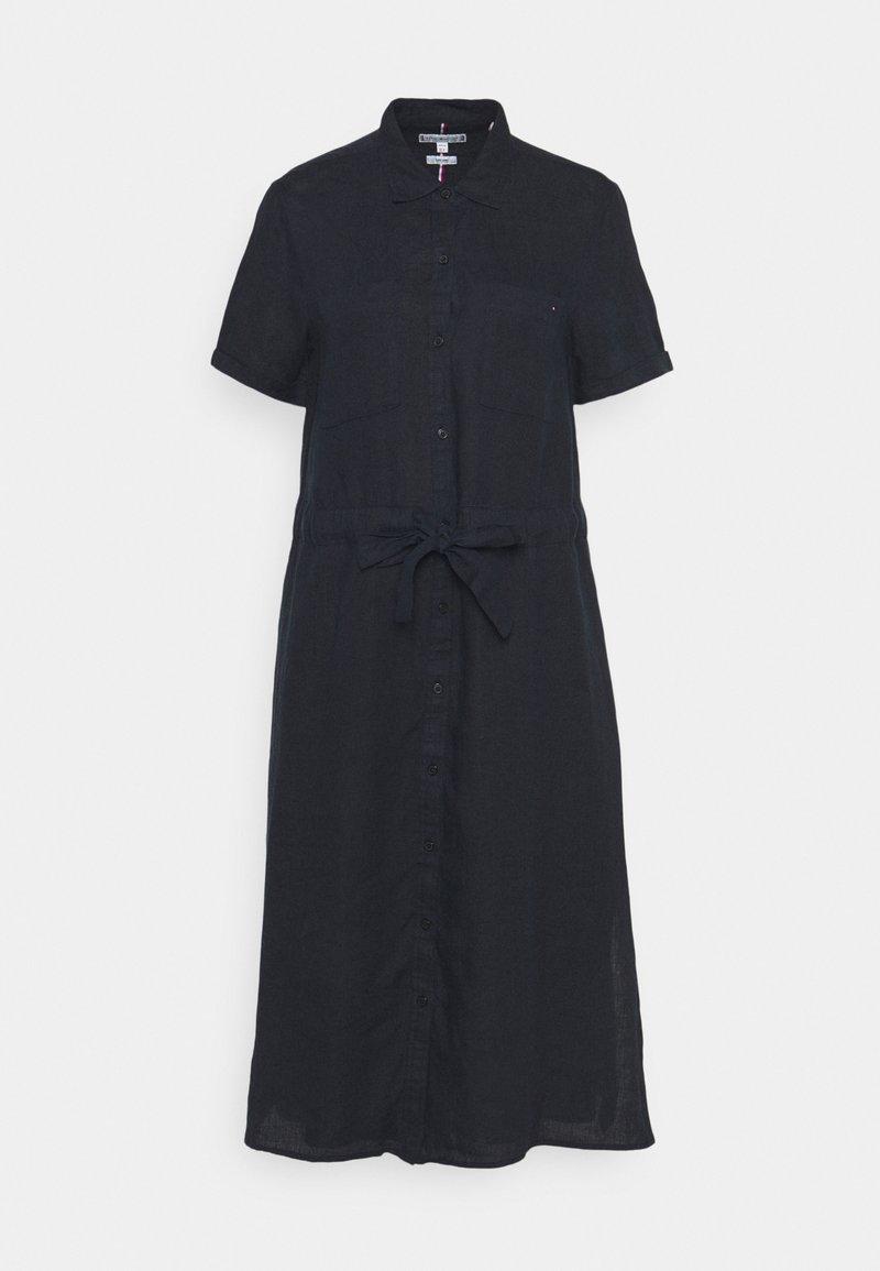 Tommy Hilfiger - ABO DRESS - Shirt dress - desert sky