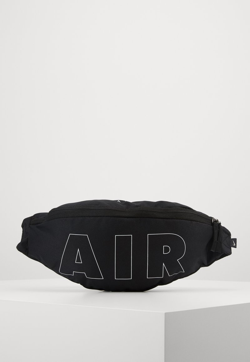 Nike Sportswear - HERITAGE HIP PACK - Bum bag - black/white