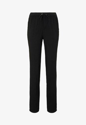 Trousers - deep black