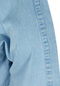 Zizzi - Short coat - light blue denim - 2