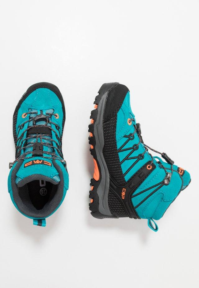 KIDS RIGEL MID TREKKING SHOE WP - Hiking shoes - rif/antracite