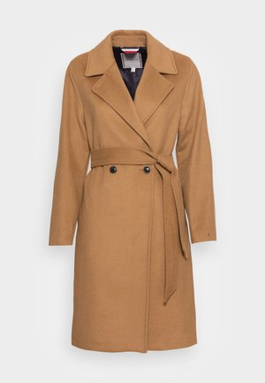 BLEND BELTED COAT - Klasický kabát - countryside khaki
