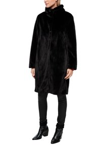 s.Oliver - TEDDY - Winter coat - black - 6