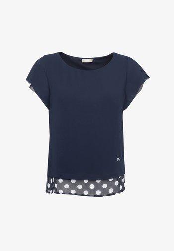 Print T-shirt - blu