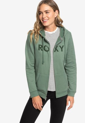 COSMIC NIGHTS - Zip-up hoodie - green
