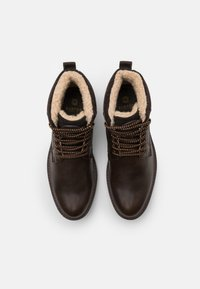 Burton Menswear London - POWELL - Šněrovací kotníkové boty - brown - 3