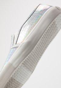 ALDO - BROARITH - Nazouvací boty - silver - 2