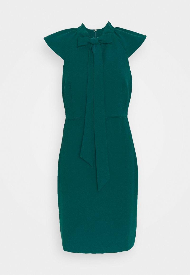 J.CREW PETITE - KORA DRESS - Cocktailklänning - dark spruce