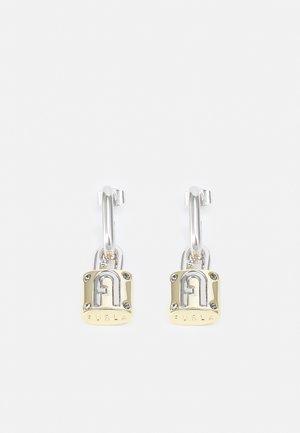 FURLA PIPER PADLOCK EARRINGS - Korvakorut - silver-coloured